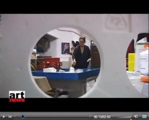 Frame del Video RAI su Cristina Crespo (clic per vedere)