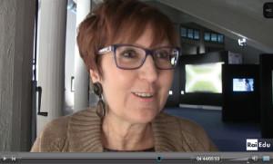 Paola Orlandini nel video del servizio RAI