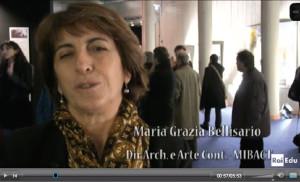 Maria Grazia Bellisario nel servizio RAI (clic per vedere)