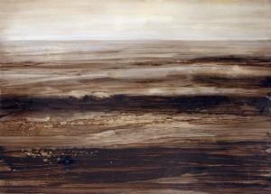 Mare 5, olio su carta, cm 50 x70, Foto S.Ferracci
