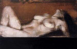 N 1- Viéneme 'nzuonno-  tecnica mista su tavola 2013-15. cm 25x40. foto Stefano Ferracci