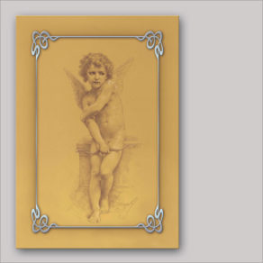 "post-er-card – W.-A. Bouguereau ""Cupido"""