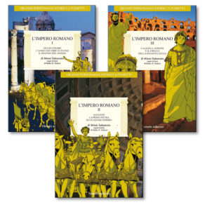 """Fumetto """"L'Impero Romano"""" vol. 1-2-3 Serie Completa di Mimei Sakamoto"""