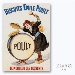 """Firmin Bouisset """"BISCUITS EMILE POULT"""""""